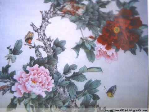 国画家张元的工笔花鸟画作品(12幅) - 勇敢的人 - 中国国际美术品交流与收藏