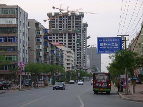 (原创)铁岭银州区的部分临街建筑景色(一)(图) - 铁岭老鱼 - 老鱼的温馨港湾