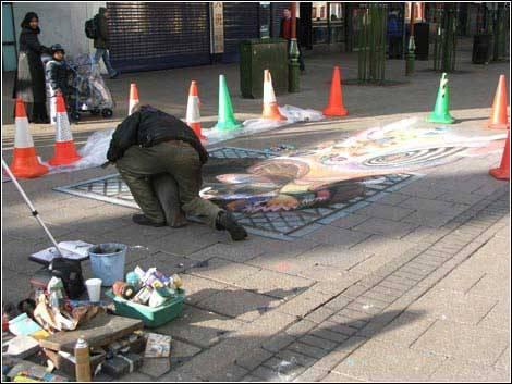 街头手绘艺术 - 小妖精的日志 - 网易博客 - 54261部队 - 五四二六一部队的博客
