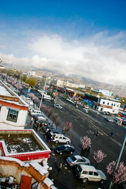 拉萨:圣洁的雪,洁净的心情 - 阿文 - tibet52的博客