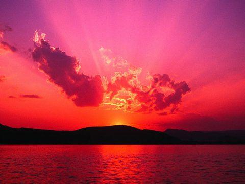 (原创)夕阳红 - 野狂人 - 好人园——和谐的家园