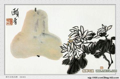 潘天寿:简介和作品 - 凝露含香 - 凝露含香