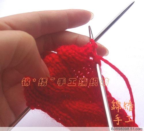 手工毛线袜子的编织方法(转)
