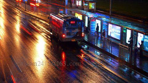 【原创】雨中拍摄金融街 - caidan58 - 陆岩的博客