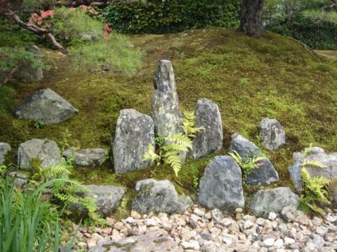 日本园林风格类型——枯山水  - 绛株草 - 小龙女