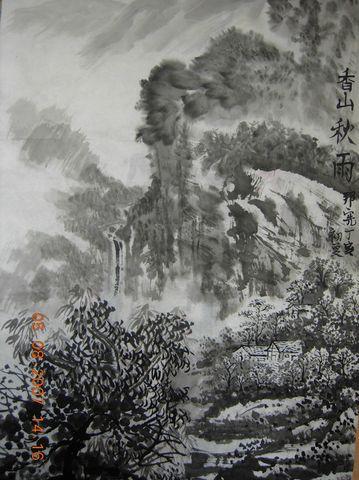 我的叁张习作[原创国画] - shui mo hua - shuimohua欢迎你,来访的朋友!