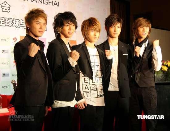 [04-05]东方神起上海开唱在即 全员亮相大力造势 - 蓝色幻影love - 安~....