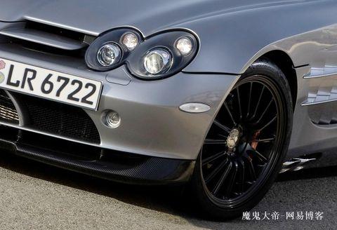 更多m-benz奔驰超级跑车slr 722s roadster图片    整体车高清图片