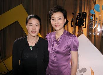 王楠 人生的舞台比乒乓球桌宽广很多 - 杨澜 - 杨澜 的博客