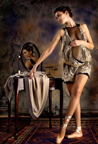 漂亮的人物摄影 - 五线空间 - 五线空间陶瓷家饰