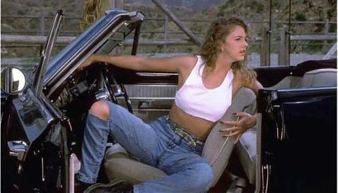 美国美女车模 激情性感