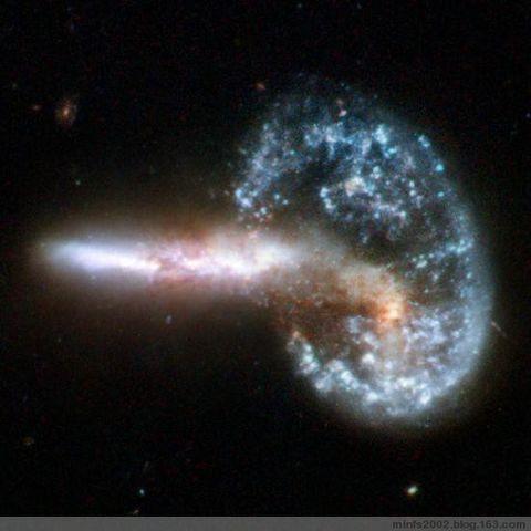 Arp 272是两个螺旋星云 - QYccs - 《星 河 恋 歌》