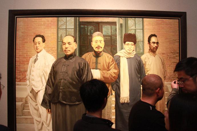 [转载]《陈丹青-归国十年》画展