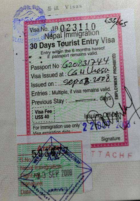 我终于用完第二本护照 - Y哥。尘缘 - 心的漂泊-Y哥37国行