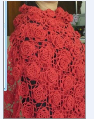 送自己的新年礼物--红色羊绒披肩 - wjhltwb - wjhltwb的博客