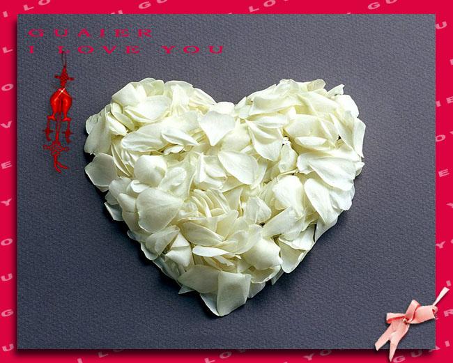 七夕情人节:心,原来可以是这么多东西做的,送 - 天下无霜 - 我的博客