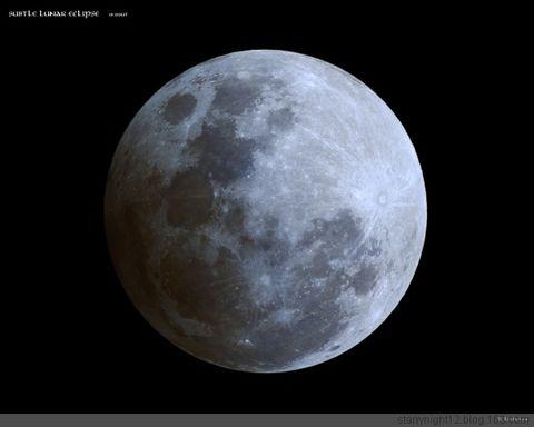 元宵节的半影月食 - starrynight12 - 星空影像坊