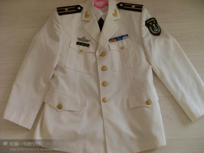 全新一套07白海军少校春秋常服图片