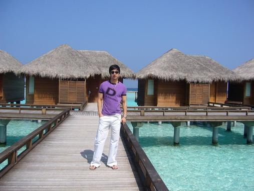 名模沈于迪在美丽的马尔代夫 - rjxkfi258 - rjxkfi258的博客