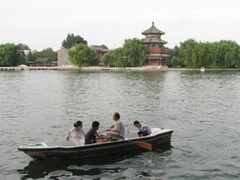 北京之行(11) 恭王府+什刹海 - 透明雨 - 透明雨的博客