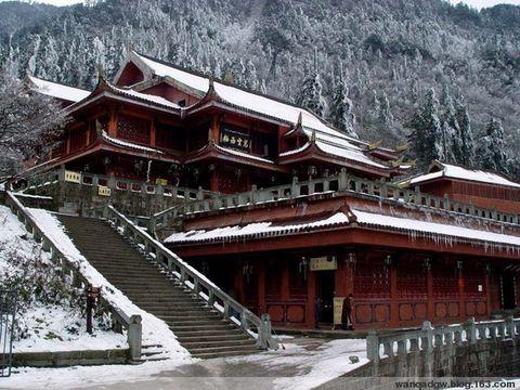 中国佛教四大名山----峨嵋山 - 红海滩 - 红海滩古玩综合博客