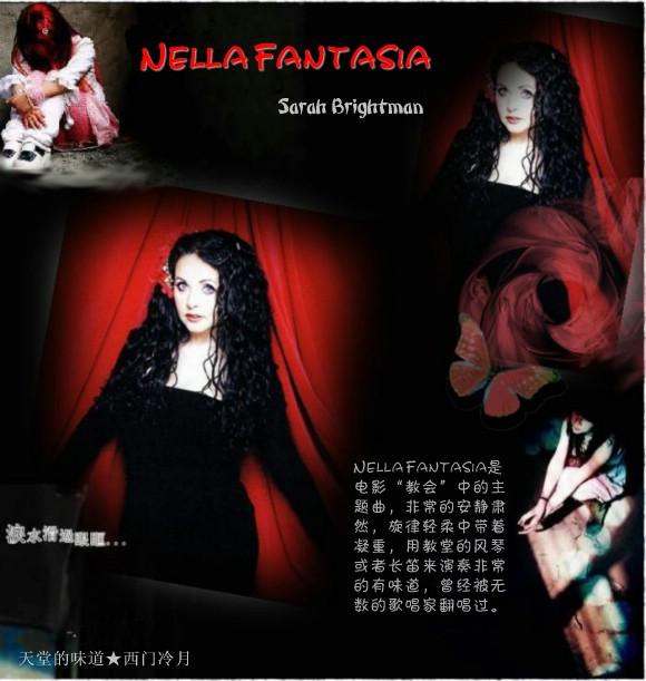 【醉心单曲】《教会》主题曲 Nella Fantasia - 西门冷月 -                  .