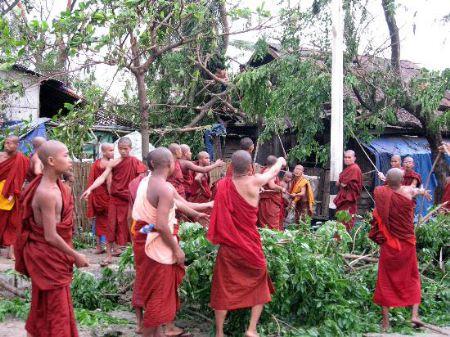 缅甸遭受强热带风暴袭击专题  - 云南省缅甸归侨联谊会 - 云南省侨联缅甸归侨联谊会博客