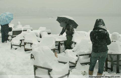 【原创】西子湖畔暴雪成灾(2008年2月2日) - 吴山狗崽(huangzz) - 吴山狗崽 欢迎你
