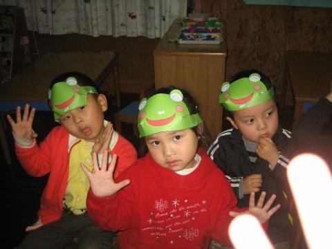 制作青蛙头饰