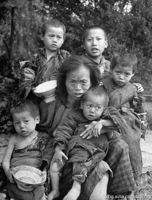 饿殍遍野的1946年大饥荒