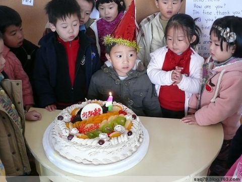 宝宝四岁生日照(补) - 琦琦 - 我的心灵氧吧