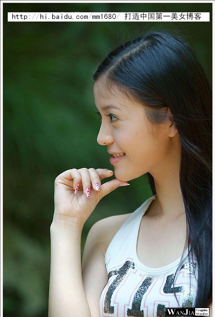 [8000张绝色美女生活照]--重庆外国语大学校花李姗