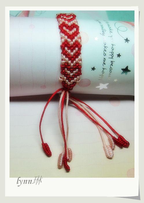 漂亮心型手链 - 浮萍 - 浮萍的博客