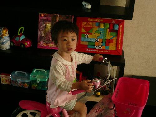 我的小外孙女两岁啦! - 曹凤岐 - 曹凤岐的博客