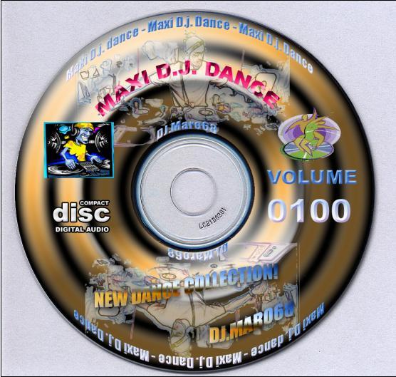Maxi Dj Dance Vol.0100 (New Dance)(2 CD) - 意大利铁匠 - 分享劲爽节奏--XINBO21