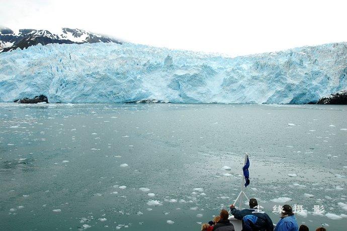 在nbsp;阿拉斯加冰河中追逐鲸鱼 - Y哥。尘缘 - 心的漂泊