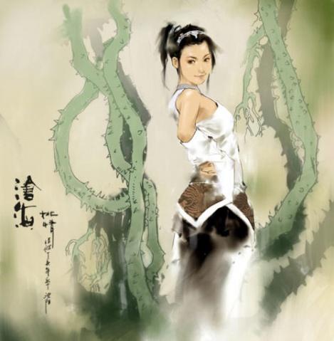 好友张禄的大作 - 维京 - 维京的插画世界
