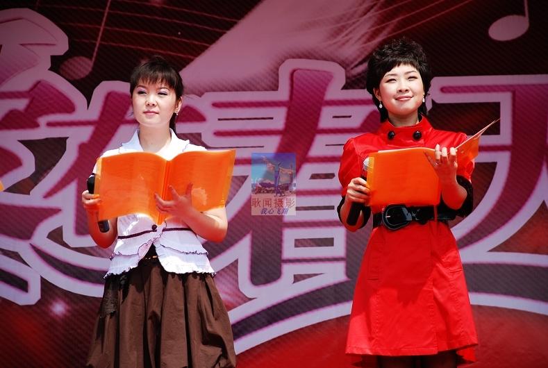 仰慕已久的黑龙江人民广播电台都市女性频道的著名主持人叶文光彩照人图片
