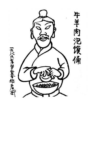 陕西漫画家李乃良:华君武的幽默影响我一辈子