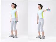 最有效可靠的瘦臂运动组合 - 秀体瘦身 - 金山教你如何边吃边减重