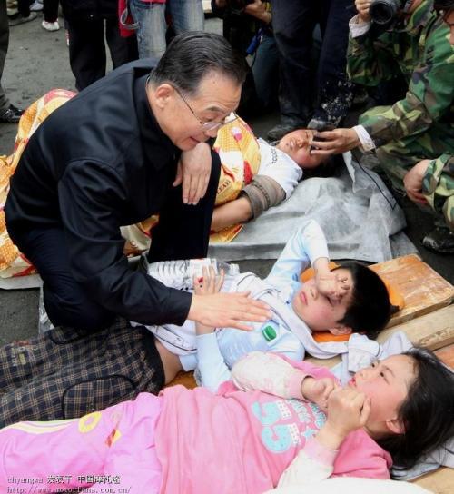 汶川,感动着中国(一) - 十年剑 - 十年剑的博客