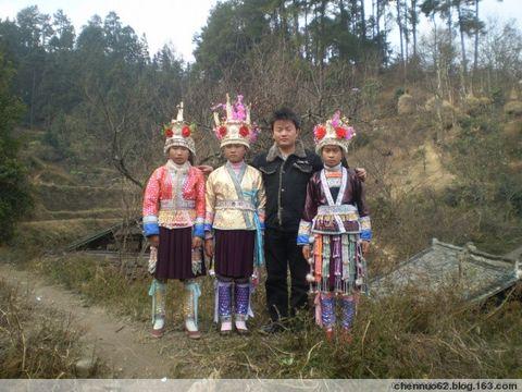 2009年2月17日 - 我的苗家女孩 - 广西柳州市三江侗族自治县富禄苗族乡