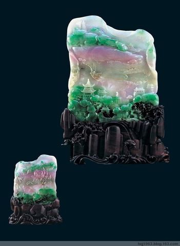 这是人世间最美的翡翠雕件---一朝拥有,夫复何求? - yyg1958 - yyg1958的博客