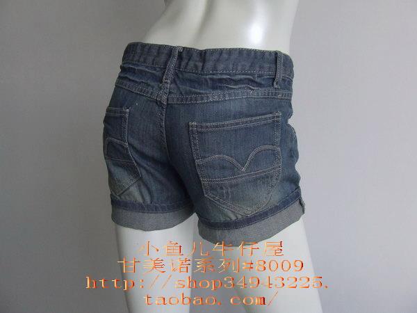 小鱼儿牛仔屋*短裤8009* - lq -