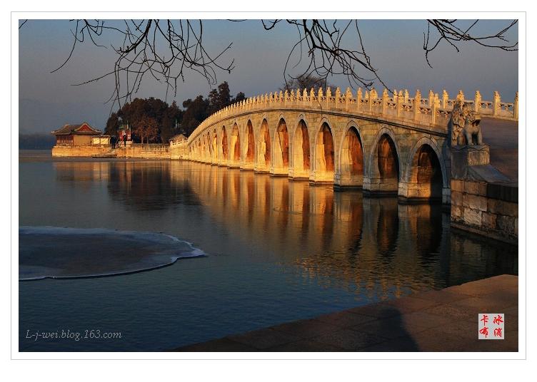 颐和园的冬日景色(原创摄影) - 冰滴卡布 - l-j-wei的个人主页