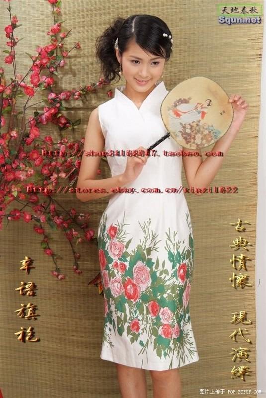 中国旗袍和日本和服哪个漂亮图片