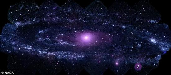 仙女座里的著名巨型旋涡星系M31(NGC 224)迄今最为清晰的图片