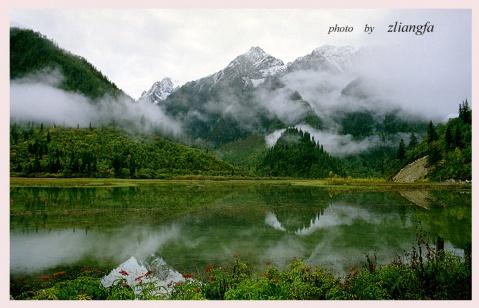 大香格里拉的神山 - 老郑 - 老郑随想
