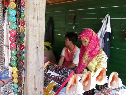 海南三亚.回族妇女