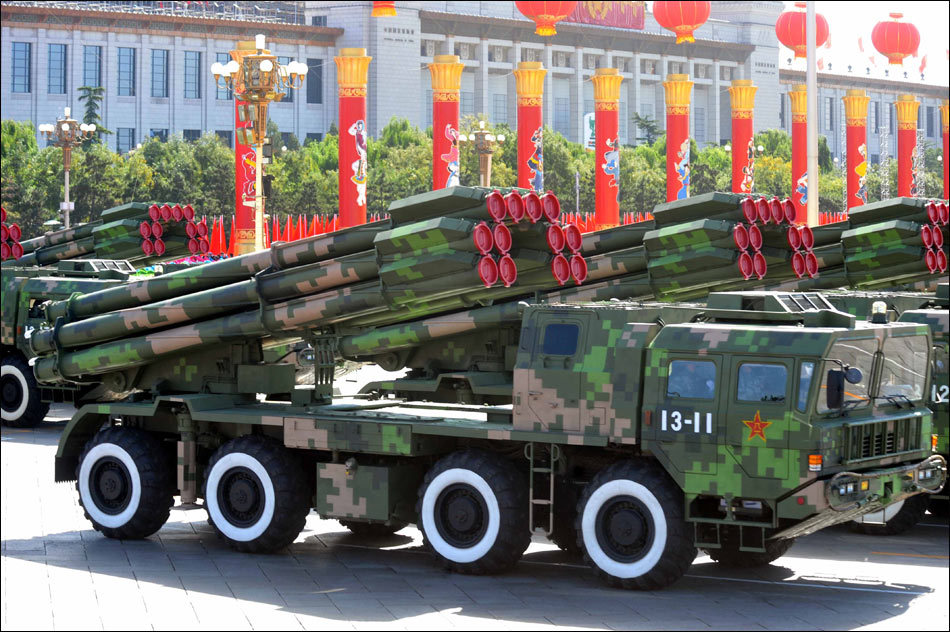 phl-03式远程火箭炮_